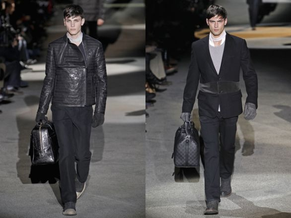 Parigi moda uomo autunno inverno 2011/12: Louis Vuitton
