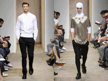 Parigi moda uomo primavera-estate 2010: Givenchy