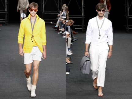 Parigi moda uomo primavera-estate 2010: Louis Vuitton