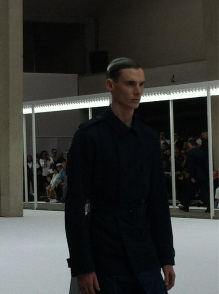 Paris fashion week uomo: Dior homme primavera estate 2013