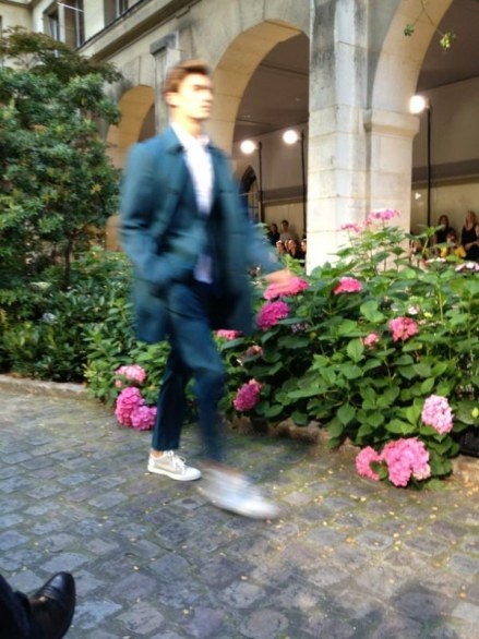 Paris fashion week uomo: Hermès primavera estate 2013