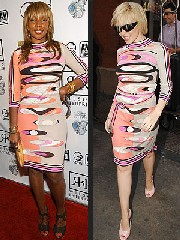 Mary J Blige e Kylie Minogue in  Pucci: chi preferite?