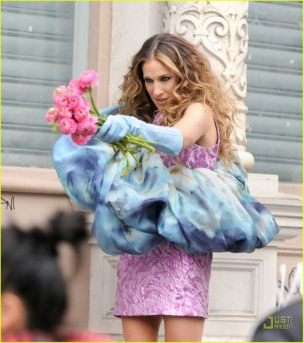 Look of the day: Sarah Jessica Parker ad Sex & the city