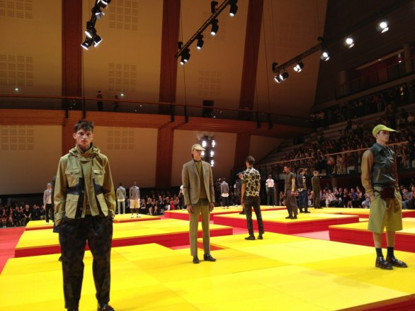 Sfilata di Kenzo , Paris Fashion week uomo estate 2013