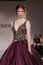 Sherri Hill abito bordeaux