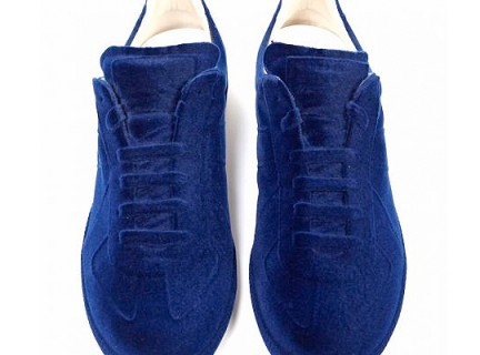 Sneakers in blue by Maison Martin Margiela