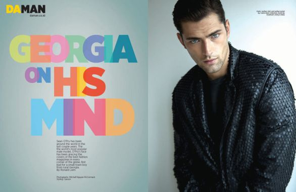 Super model Sean O'Pry su Daman