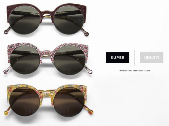 SUPER x Liberty of London sunglass collection