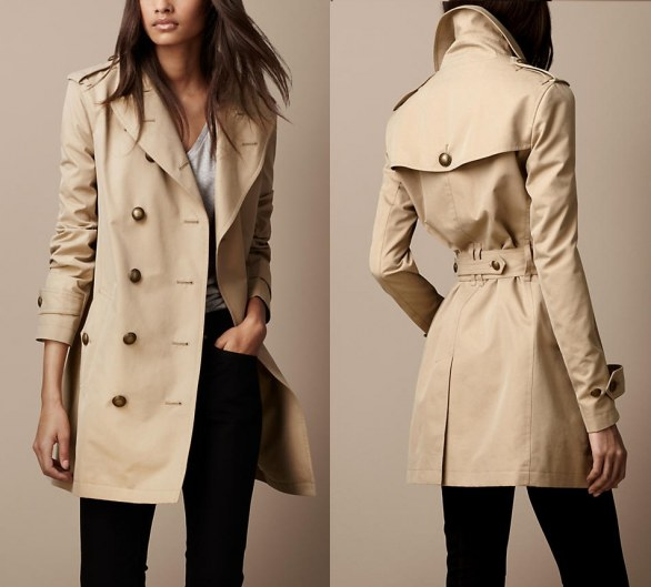 Trench Burberry autunno 2012