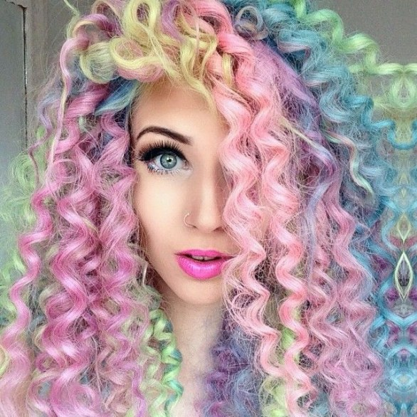 Trend Unicorn Hair