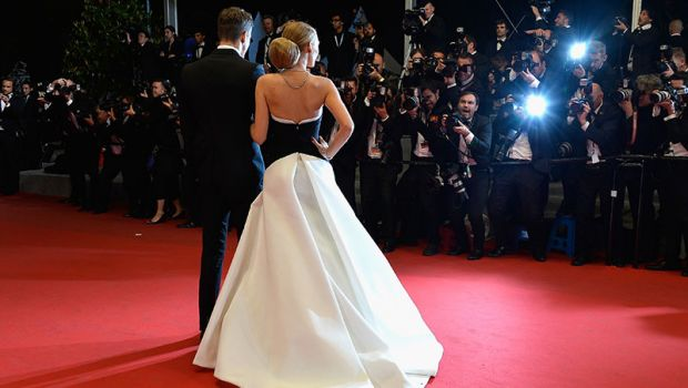 Red carpet with paparazzi