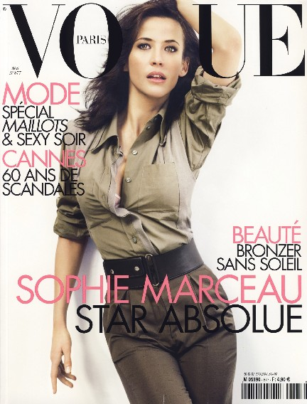 vogue paris sophie marceau