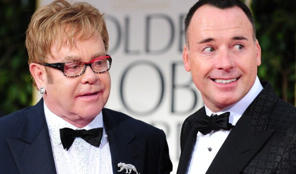 Nozze bis per Elton John e David Furnish