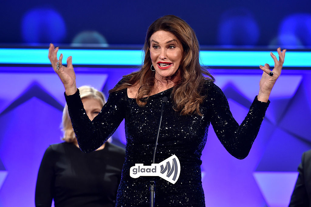 Bruce, a.k.a Caitlyn Jenner In Glaad
