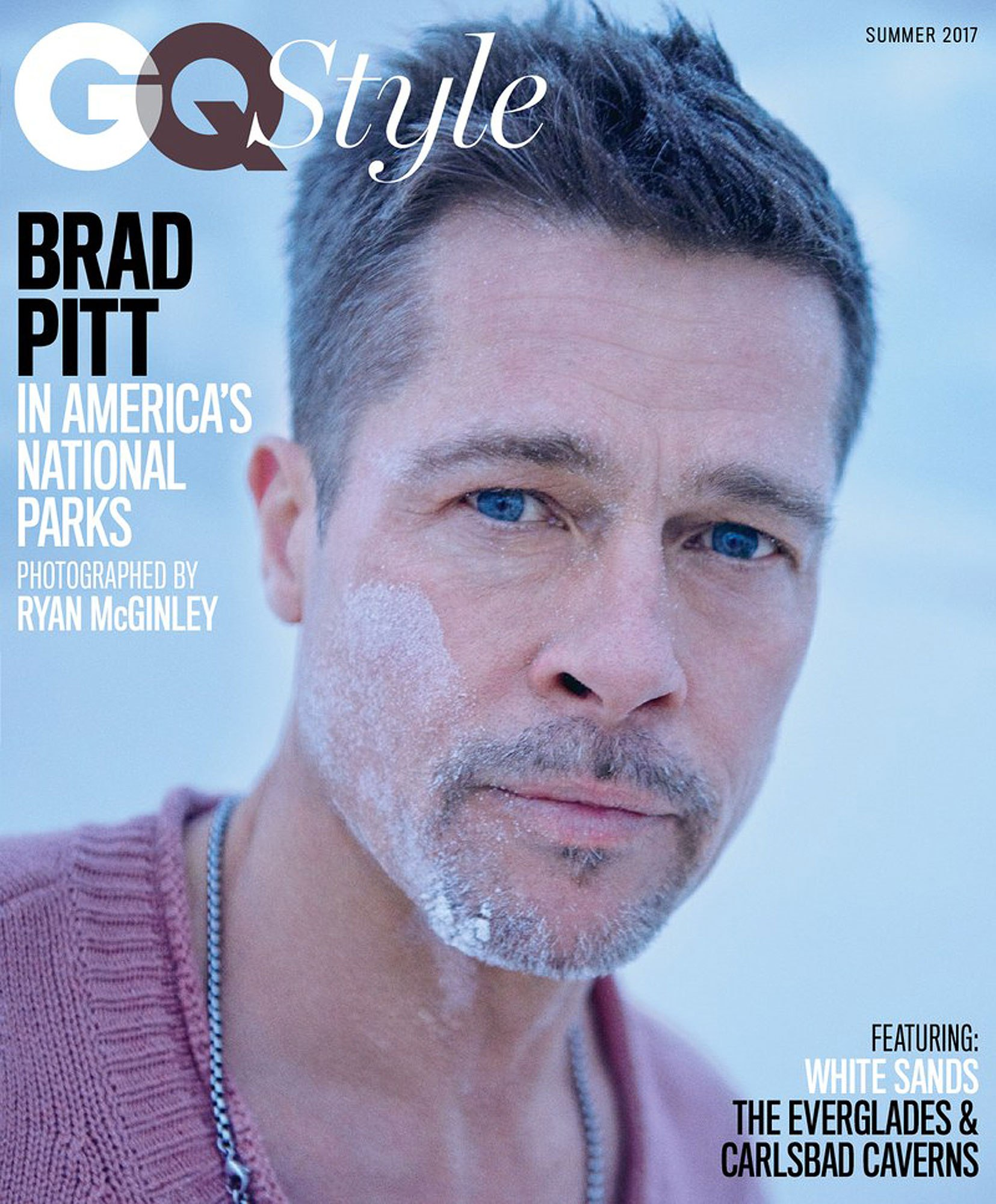 Brad Pitt 'GQ Style's Summer Issue 3 Covers Credit: Ryan McGinley exclusively for GQ Style