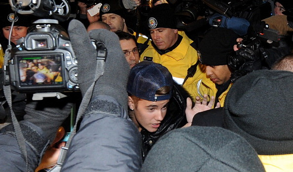 Justin Bieber Appears At A Police Station In Connection With An Alleged Criminal Assault