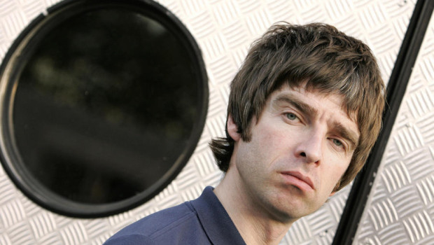 Noel Gallagher from British band Oasis p