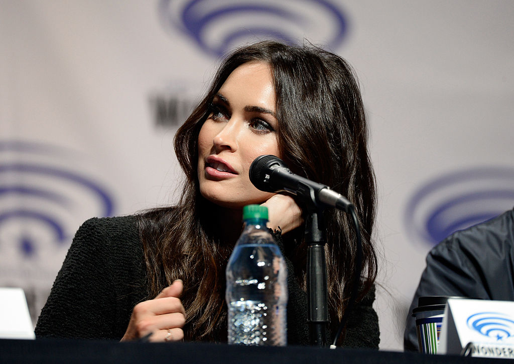 """attends a autograph signing at Wonder Con to promote the upcoming release of Paramount Pictures' """"Teenage Mutant Ninja Turtles – Out of The Shadows"""", on March 25, 2016 at the LA Convention Center in Los Angeles, California."""