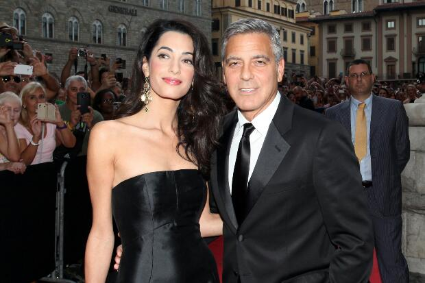 George Clooney al Celebrity Fight Night