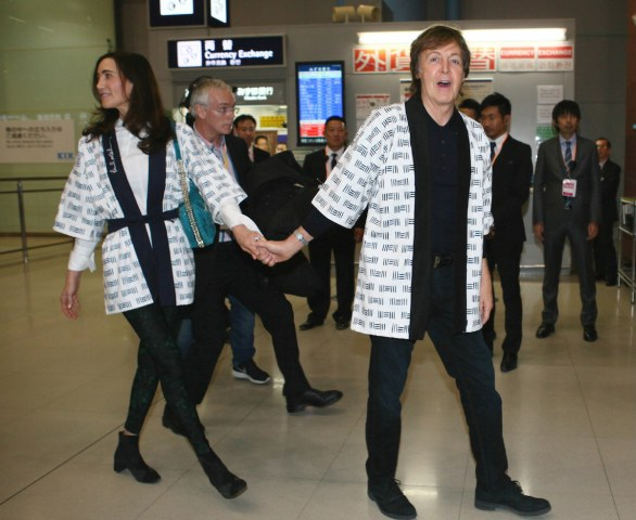 Paul McCartney è un appassionato di sumo