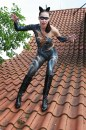 Catwoman Bodypainting by Joerg Duesterwald