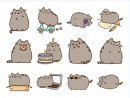 Facebook Sticker | Fido, Pusheen, Bun, Mango
