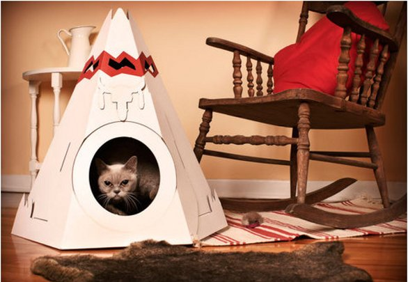 Favoloso La tenda per gatti by Loyal Luxe DO33