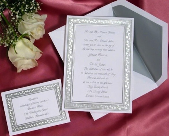 Preferenza Partecipazioni di matrimonio | Fai da te | Origami | Video tutorial YA76