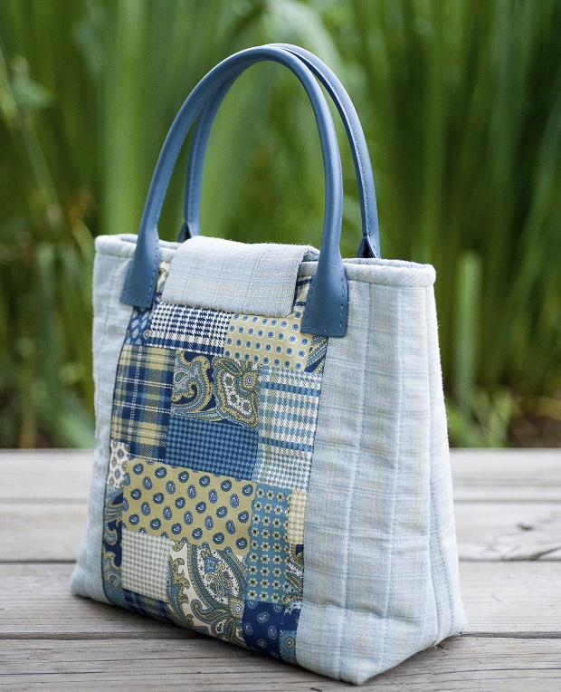 borsa a mano in patchwork