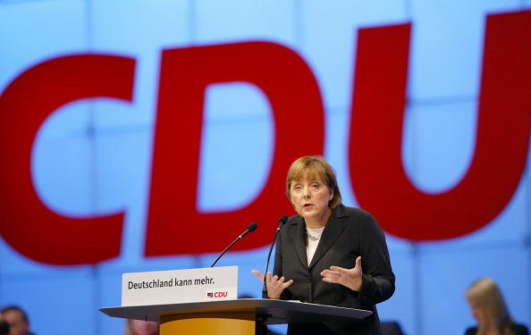 Angela Merkel Speaks At CDU Party Congress