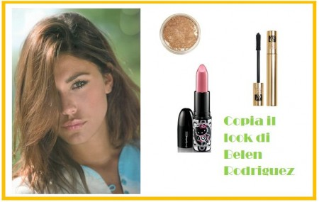 Belen Rodriguez Make-up