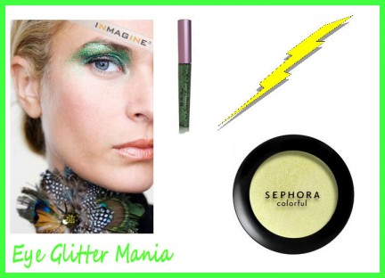 makeup verde brillante