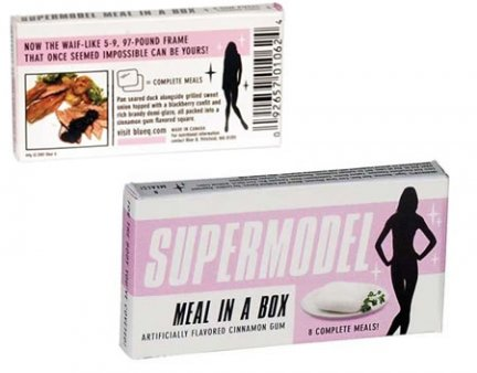 supermodel meal in a box