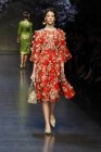 Dolce & Gabbana look rosso