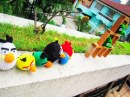 Angry Birds uncinetto
