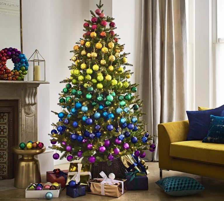 Decorate Christmas Tree Like Department Stores: Tendenze Natale 2018