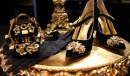 Baroque Collection D&G FW 2012-2013 - accessori pizzo e broccato nero/oro