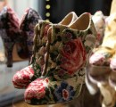 Baroque Collection D&G FW 2012-2013 - ankle boots ricamo fiorato