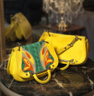 Lady Butterfly bag giall