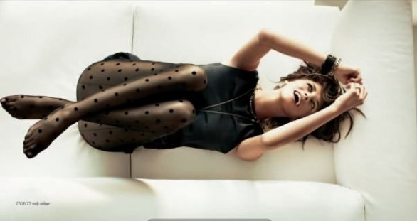 Calzedonia collant a pois