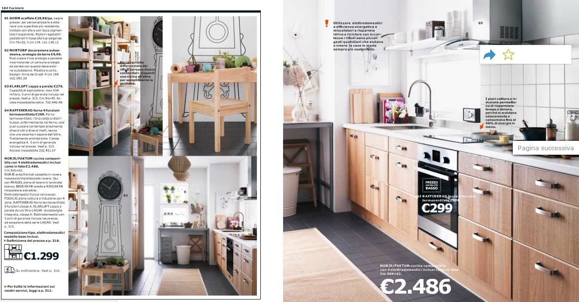 Best Catalogo Ikea 2014 Cucine Gallery - Ideas & Design 2017 ...