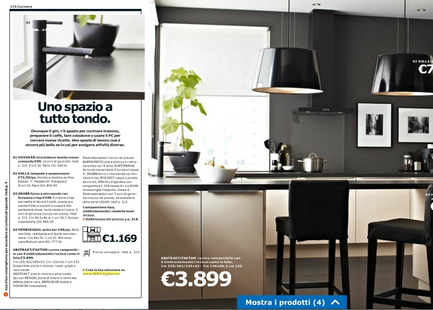 Awesome catalogo cucine ikea 2014 photos ideas design for Ikea catalogo cucine 2017