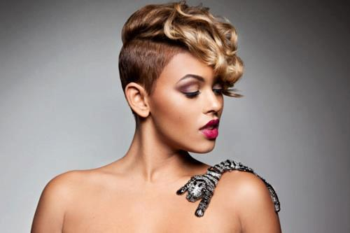 Short Shaved Hairstyles Black Women