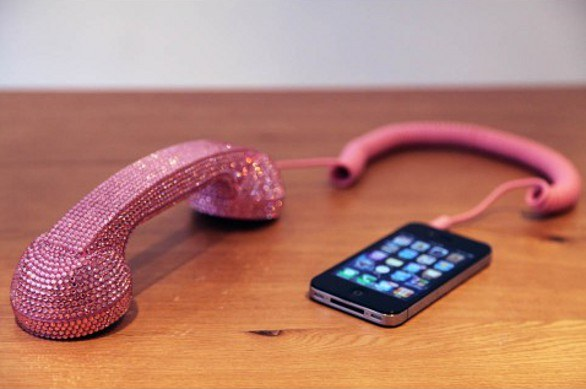 Cornetta Native Union Crystal POP Handset