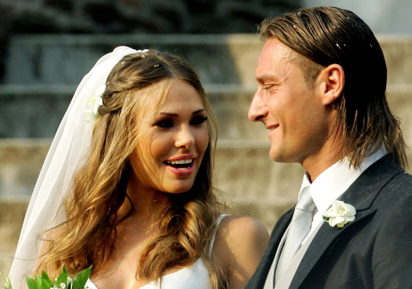 FBL-PEOPLE-ITALY-TOTTI-WEDDDING