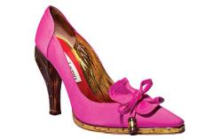 deluxe fucsia shoes
