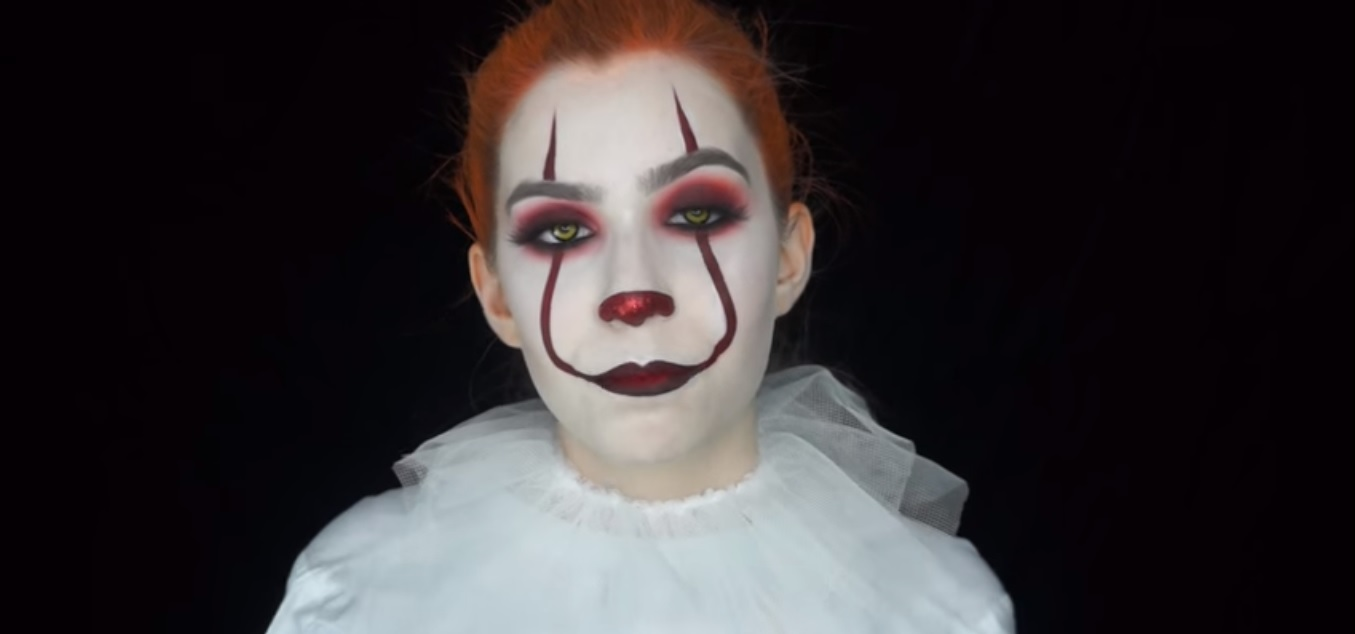 Trucco per Halloween | Clown Pennywise | IT | Video tutorial