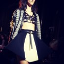 Fausto Puglisi top in pelle