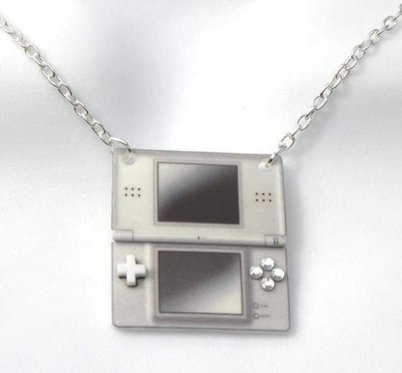 geeky gamer necklaces