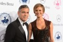 George Clooney e Stacy Keibler inamorati